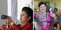 Mantap! Ibu Ani Yudhoyono makin eksis jadi fotografer