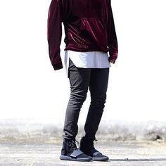 hot sale online c7f2a 6f2e6 inexpensive adidas yeezy boost 750 triple black pant 8828c cdb4f