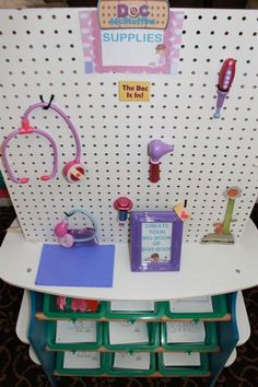 The cutest and most detailed DOC MCSTUFFINS birthday parties I've seen.  Lots of great ideas!