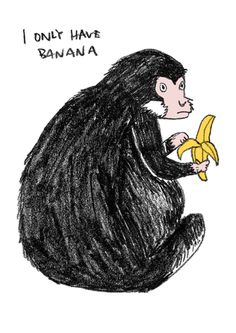 Kathy Lam i only have banana  pencil and photoshop  2013