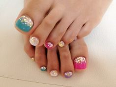 Toe Nail Polish Art!  If you have a toenail fungus problem, come to Beautiful Toenails in Southfield, MI!  Call (248) 945-1000 TODAY to set up an appointment with us or visit our website www.toenailfungu.pro to find out more information!