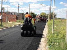 """#Pavimentación de calle Tropero Chavero:  """"Sin dudas es un trabajo que mejorara el escurrimiento del agua y la fluidez vehicular"""""""