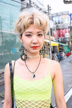 Cool studded earrings