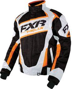 FXR Helix Jacket - Blk-White-Org