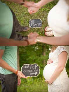 "Rachel Walters Photography ""We prayed and He answered"" Maternity"