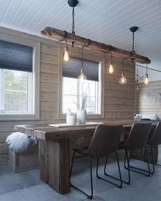 Sensible DIY home decor modification ref 4457724147 for a dazzling space. Stop by the list this instant. Cabin Homes, Log Homes, Cabin Design, House Design, Rooms Ideas, Barn Kitchen, Interior Exterior, Inspired Homes, Interiores Design