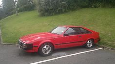 1983 Toyota Celica Supra Red - http://classiccarsunder1000.com/archives/8270