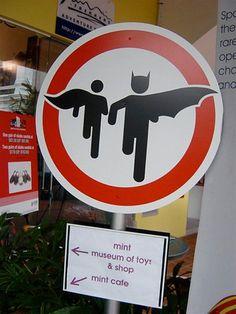 beware from batman