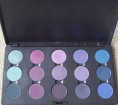 Winter colour eyeshadow
