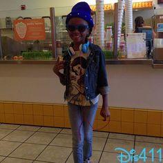 Photos: Skai Jackson Super Cute In Her Snow White Shirt March 23, 2013