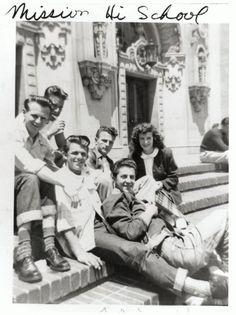 San Francisco - Mission High School, ca. 1946
