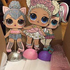 Sarah Swanson ha añadido una foto de su compra 6th Birthday Parties, 4th Birthday, Surprise Birthday, Barbie Party, Doll Party, Girls Party Decorations, Birthday Party Centerpieces, Lol Dolls, Unicorn Party