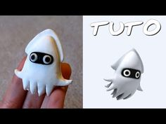 TUTO FIMO | Blooper (de Mario) polymer clay tutorial