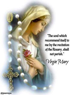 I pray for myself. Prayers To Mary, Simple Prayers, Novena Prayers, Catholic Prayers, Jesus Mother, Blessed Mother Mary, Blessed Virgin Mary, Praying The Rosary, Holy Rosary
