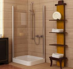 Engaging Tiles Design Ideas For Small Bathrooms. Delectable Design Small  Bathroom Ideas Come With Brown Color Tiles Wall Panels And Corner Shower  With Glass ...