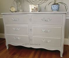 RPK Interiors: French Linen Dresser & Night Stand