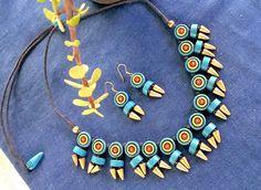 Maatikaar-Terracotta Jewellery..Very Indian and exceedingly pretty...