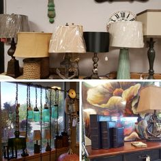 Many unique lamps to choose from ... come on in to Kitsap Real Deals in Silverdale!