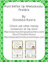Next Dollar Up Strategy: Resources and Freebieby Autism Classroom News at http://www.autismclassroomnews.com