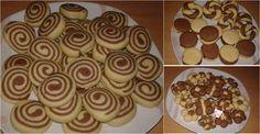 Φτιάχνουμε ωραία μπισκοτάκια πανεύκολα και με περίεργα σχεδιάκια !!!!   Μπορούμε να κάνουμε κορδόνια δίχρωμα χωριστά και να τα στρίψο... Cat Calendar, Sweets Recipes, Desserts, Biscuits, Muffin, Pudding, Cookies, Breakfast, Food