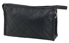 niceeshop(TM) Woman Cosmetic Tool Nylon Gridding Rectangle Makeup Pouch/Bag/Case with Zipper Closure-Black (Small) niceeshop http://www.amazon.com/dp/B00H8F1CR0/ref=cm_sw_r_pi_dp_6owJwb19T5F93