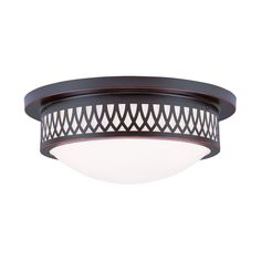 Shop Livex Lighting  735 Westfield Flush Mount Ceiling Light at Lowe's Canada. Find our selection of flush mount ceiling lights at the lowest price guaranteed with price match + 10% off.