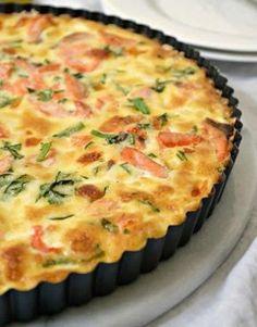Tarte légère saumon courgettes au thermomix. Voici une recette de Tarte légère saumon et courgettes, facile et simple a réaliser chez vous.