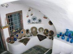 Ceramics shop, Santorini