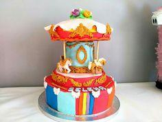 Bright rainbow cake topper 8th Anniversaire Tout Nom Personnalisé-Gratuit UK p/&p
