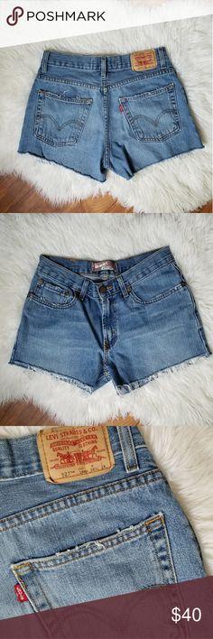 9af92495 Vintage Levi's 527 high rise cut off shorts 🦓vintage 🦓100% cotton, non