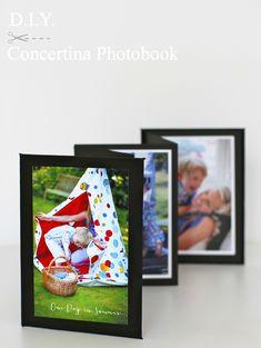 DIY Concertina-fold Photobook from www.katescreativespace.com