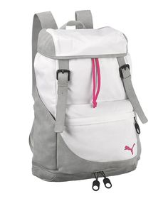 Take a look at this White Float Backpack on zulily today!