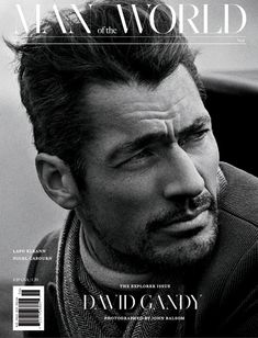 David Gandy for Man of the World by John Balsom