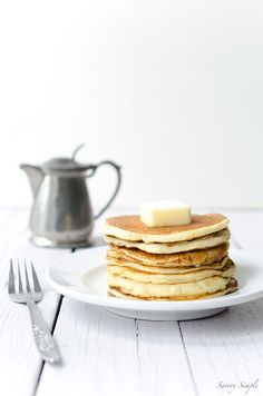 These easy yogurt pancakes are a delicious protein packed breakfast ...