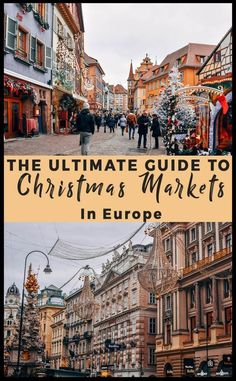 A guide to visiting the best Christmas markets across Europe including markets in Germany, Austria, France, Switzerland and beyond. Here's my guide on the Christmas markets including a suggested itinerary for the ultimate Christmas market experience. Best Christmas Markets, Christmas Markets Europe, Christmas Travel, Holiday Travel, Christmas Vacation, Backpacking Europe, Europe Travel Guide, Europe Europe, Europe In Winter