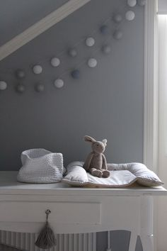 Loving this nursery inspiration Baby Bedroom, Baby Boy Rooms, Nursery Room, Girls Bedroom, Nursery Decor, Ideas Habitaciones, Happy Lights, Deco Kids, Nursery Neutral