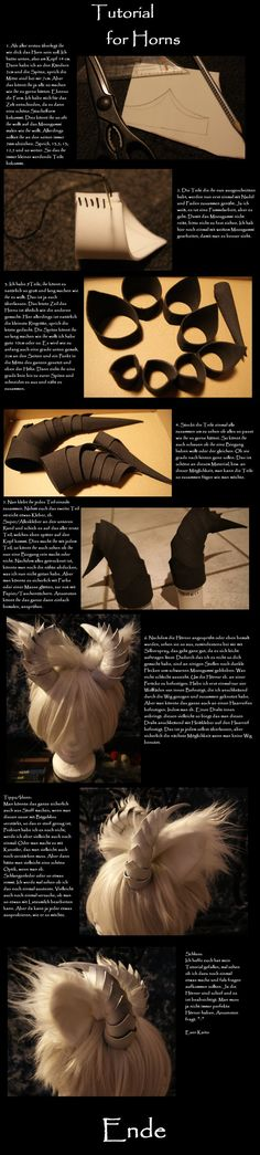 Tutorial for Horns by DevilKaito on deviantART