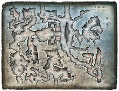 Dungeon #199 - Glacial Rift of the Frost Giant Jarl; Map 3 (Digital DM & Player Versions)