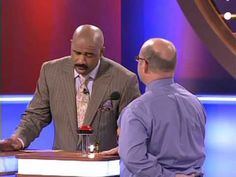 i absolutely love family fued now that steve harvey is on there!