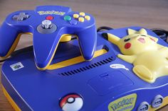 All sizes | Pikachu Nintendo 64 + Pikachu controller, via Flickr.