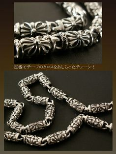 Rakuten: Silver Wallet Chain with Medieval Crosses Silver925- Shopping Japanese products from Japan