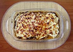 Řecká MUSAKA s lilkem a mletým masem - Ochutnejte svět Musaka, Lasagna, Macaroni And Cheese, Ethnic Recipes, Food, Fine Dining, Mac And Cheese, Essen, Meals
