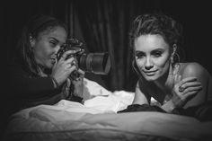 The lovely Margarita Lievano working her magic with the stunning Natasha Beardmore #bts #photography