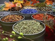 Common Herbs, Flowers & Spices and their Spiritual Uses & Medicinal Properties: