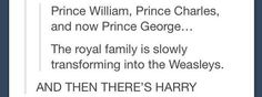 AND George is a half-blood prince. Well played, Kate & William.