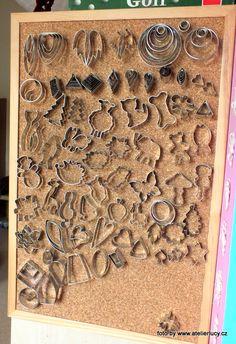 Little tip for cutter organization. www.atelierlucy.cz    #Polymer #Clay #Tutorials