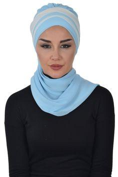Product Information : Double Color Ready To Wear Hijab Fabric : Chiffon Size : Standard Instant Hijab, Bridal Hijab, Turban Style, Head Wraps, Hijab Fashion, Ready To Wear, Chiffon, Beige, Trending Outfits