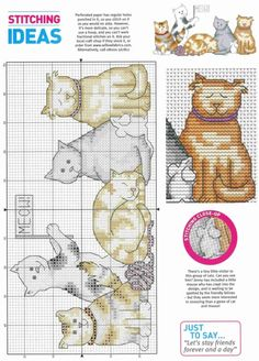 Gallery.ru / Фото #35 - Cross Stitch Card Shop 55 - WhiteAngel Cross Stitch Boards, Cross Stitch Love, Cross Stitch Alphabet, Cross Stitch Animals, Cross Stitch Designs, Cross Stitch Patterns, Loom Patterns, Cat Cross Stitches, Cross Stitching