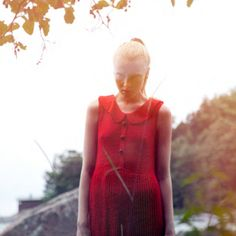 Ivana Helsinki Natural Photoshoot Red And Pink, Pink Purple, Mood Images, Indian Summer, Marimekko, Helsinki, Summer Collection, High Neck Dress, Spring Summer
