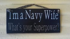 Once a Navy wife, always a Navy wife!